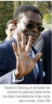 Teodoro Obiang Nguema. Foto Agencia EFE.