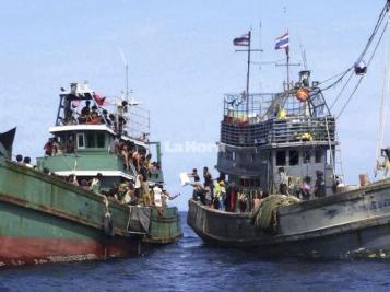Inmigrantes rohingya  en busca de un hogar