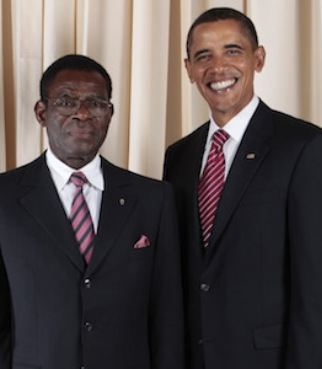 Obiang y Obama, un encuentro que quizás no vuelva a repetirse.