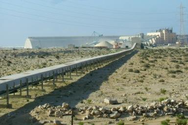 Recursos naturales del pueblo saharaui expoliados por Marruecos en connivencia con la UE (Foto de Solidaridad Galega)