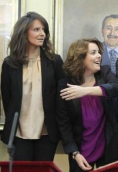 María Picó y Soraya Sáenz de Santamaría