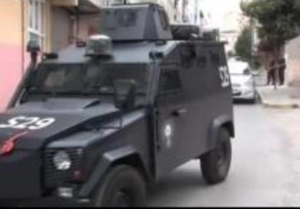 Vigilancia policial en Madrid