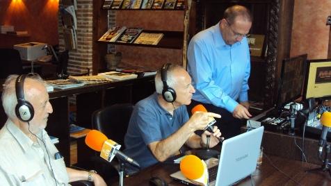 José Manuel González Torga, Eugenio Pordomingo y Javier Castro-Villacañas