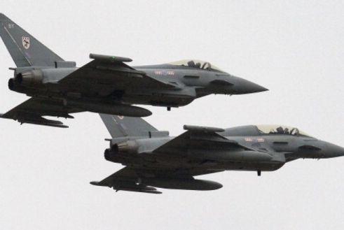 Aviones Tornado británicos
