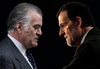 Luis Bárcenas y Mariano Rajoy frente a frente.