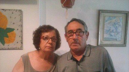 Los padres de  Juan y Mª Rosa.