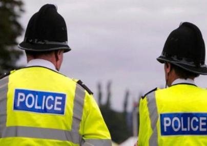 Policias britanicos