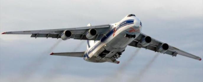 Avión ruso,  Antonov An-124.