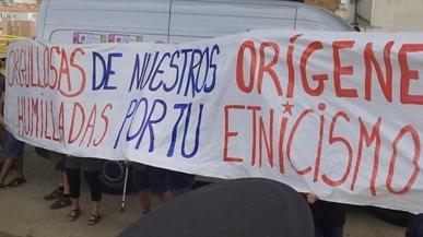Escrache a Pablo Iglesias