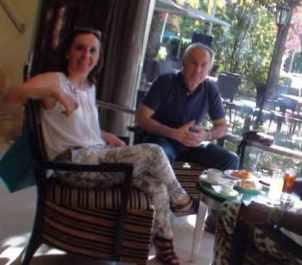 Pilar Esquinas y Eugenio Pordomingo (Foto de archivo).