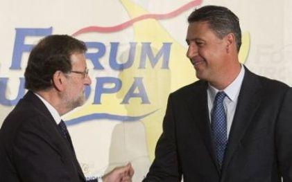 Mariano Rajoy y Xavi García Albiol: Foto Fórum Europa.
