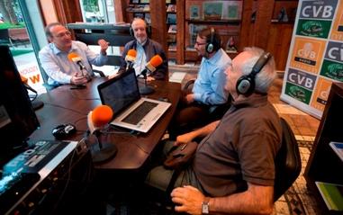 De izquierda a derecha, Javier Castro-Villacañas, José Manuel González Torga, Rafael Díaz y Eugenio Pordomingo