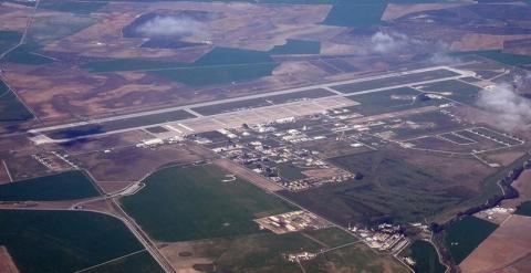 Base de Morón de la Frontera en Sevilla, ahora  convertida en Base Permanente de Estados Unidos.