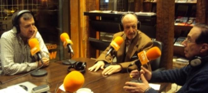 De izquierda a derecha, Aniceto Setién, José Manuel González Torga y Jesús Riosalido