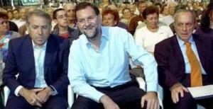 Cuiña, Rajoy y Fraga