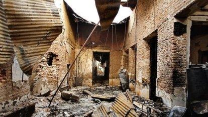 Hospital de MSF en Kunduz. Fotografía de Andrew Quilty.