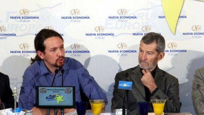 Pablo Iglesias y Julio Rodríguez