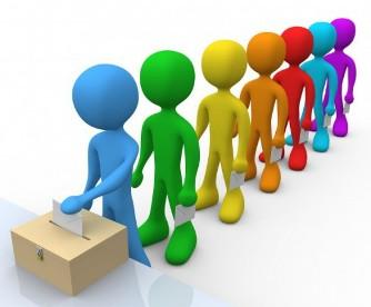 A votar: Dibujo de Estudios de Mercados.