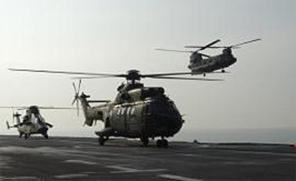 Helicópteros españoles.