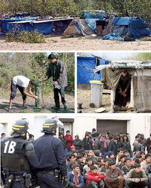 Campamento La Jungla. Foto digital Los Andes.