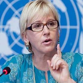 Margot Wallstrom, ministra sueca de Asuntos Exteriores