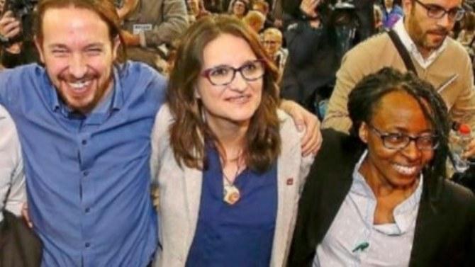 Pablo Iglesias y Rita Bosaho
