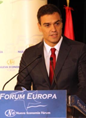 Pedro Sánchez en Nueva Economía Forum