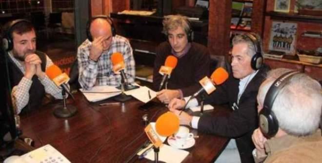 De izquierda a derecha, Aniceto Setién, Serafín Giraldo, Iván Vélez, José Antonio Boal y Eugenio Pordomingo