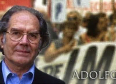 Adolfo Pérez Esquivel, Premio Nobel de la Paz.