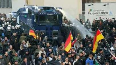 Manifestaciones en Alemania. Foto Merkur.