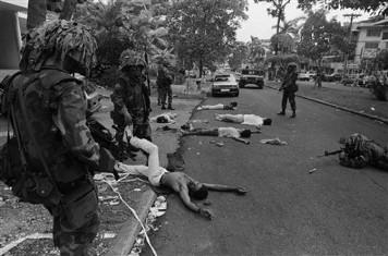 Efectos colaterales de la invasión de Panamá por Estados Unidos