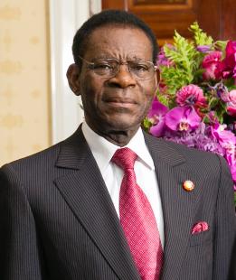El dictador,Teodoro Obiang Nguema.