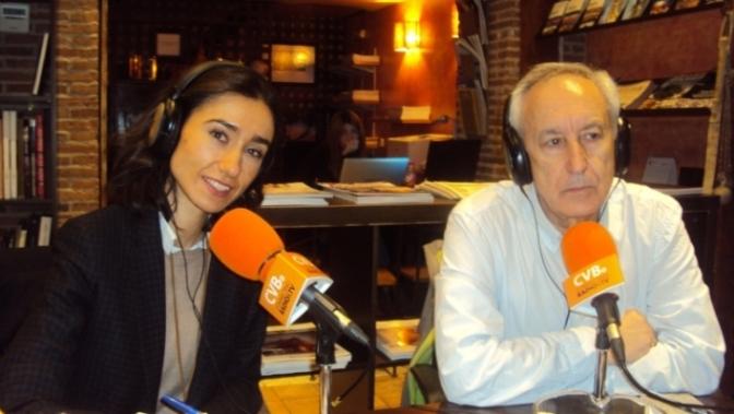 Silvia Martín (Sindicato Unificado de Policía) y Eugenio Pordomingo.