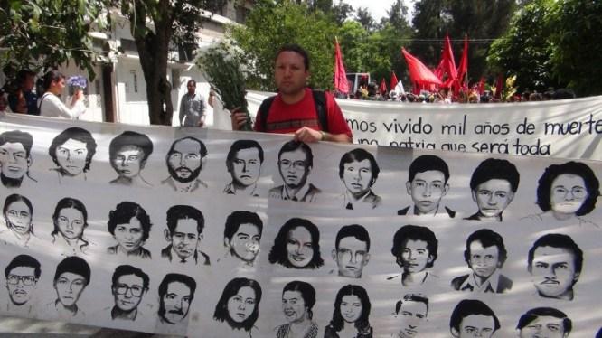 Víctimas de la dictadura.