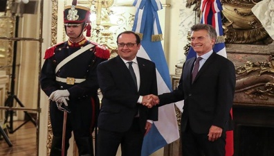 Hollande y Macri
