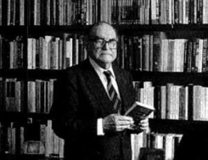 Julián Marías, filósofo.