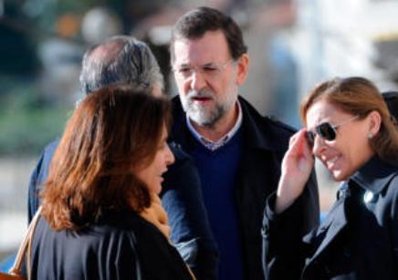 Rajoy y Bárcenas pactaron el uso de la cuenta suiza: la banquera estuvo al tanto.