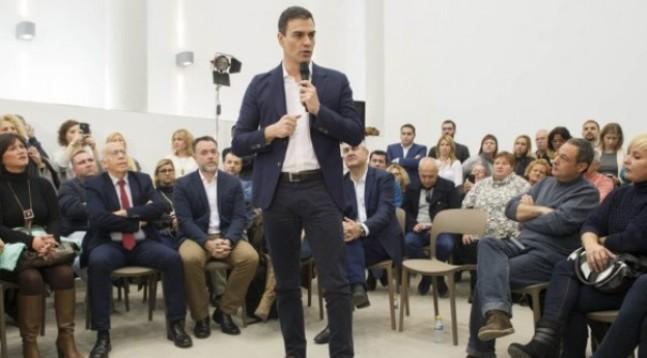 Pedro Sánchez, secretario general del PSOE. Foto PSOE.