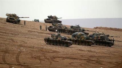 Carros de combate turcos.