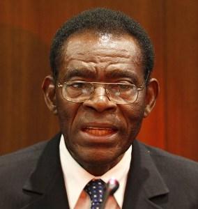 Teodoro Obiang Nguema, Presidente de la República de Guinea Ecuatorial.