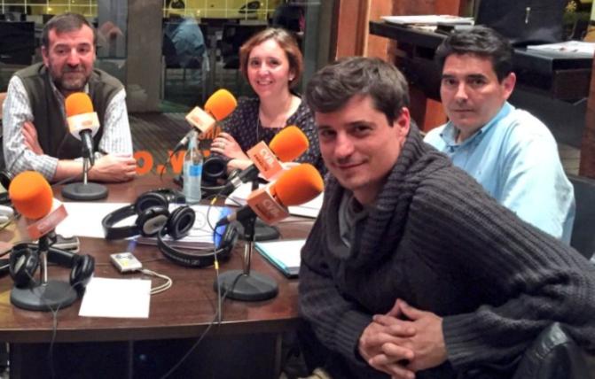De izquierda a derecha, Aniceto Setién, Pilar Esquinas, José Oreja y Miguel Ongil.