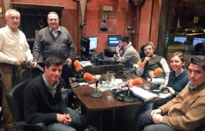 De izquierda a derecha, Miguel Ongil, Eugenio Pordomingo, Javier Castro-Villacañas, Alfredo Matarranz (técnico), Aniceto Setién, Pilar Esquinas y José Oreja.