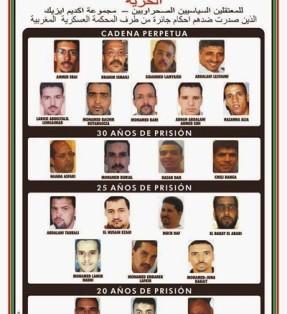 Presos políticos saharauis en huelga hambre indefinida.