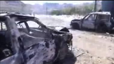Consecuencias de los bombardeos realizados por Arabia Saudí.