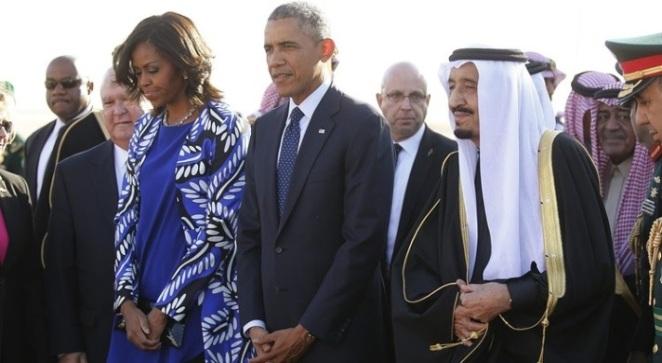 Barack Obama en Arabia Saudí.