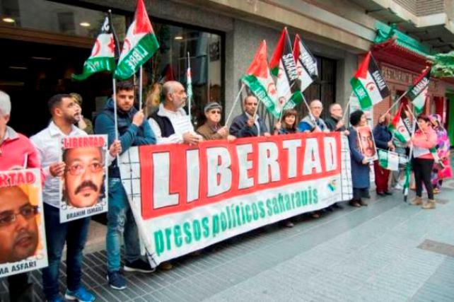 La Asociación Canaria de Solidaridad con el Pueblo Saharaui se sumó a una huelga de hambre en cadena en apoyo a los presos políticos saharauis de Geim Izik