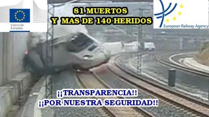 Tragedia en Santiago de Compostela.