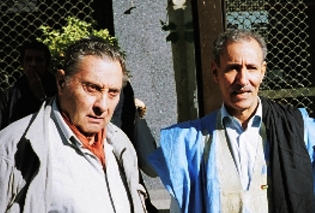 Coronel Javier Perote y Brahim Gali