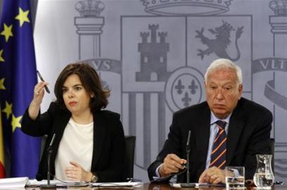 Soraya Sáenz de Santamaría y García-Margallo: Foto Moncloa.