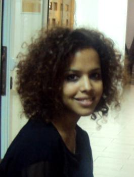 La periodista y activista saharaui, Ebbaba Hameida.